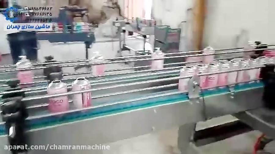 دستگاه اسپری پرکن اتومات