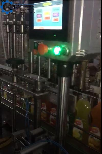 دستگاه پرکن مایعات غلیظ سیلندر پیستون
