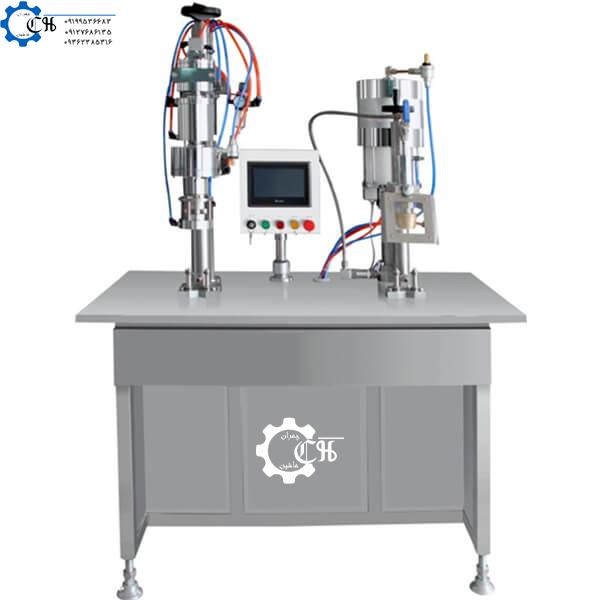 دستگاه نیمه اتوماتیک اسپری پرکن ولودار B.O.V