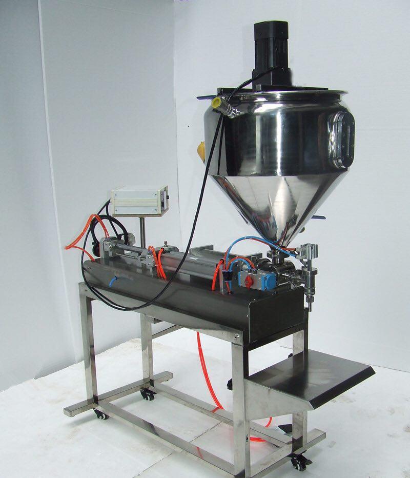 ساخت و فروش دستگاه پرکن مایعات غلیظ